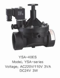 Plastic Solenoid Valve For Gardon Irrigation , Electric Sprinkler Valve Energy Saving