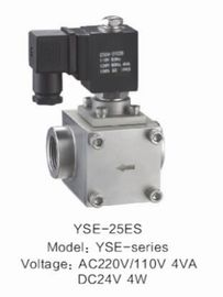 High Pressure Pilot Low Power Solenoid Valve , Low Voltage Solenoid Water Valve