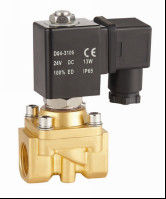 "China Mini 1/4""Water Solenoid Valve Two Way Electric Water Valve Semi Direct Acting factory"