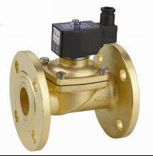 China Two Way Flange Electric Solenoid Water Valve , Small Solenoid Valves For Water factory