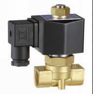 "China 2W Series 1/8"" Water Solenoid Valve 24V Automotive Electrically Operated Water Valve factory"