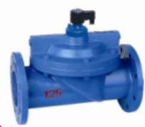 Cast Iron Electronic Solenoid Valve Low Voltage Water Valve Normally Closed