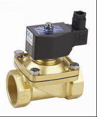 "Brass Electronic 3/4""Water Solenoid Valve Direct Operated Two Way"