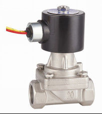 2 Inch SS Hot Water Solenoid Valve NC , High Temperature Solenoid Valve