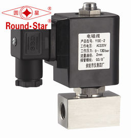 3/4 Inch Normally Closed High Pressure Solenoid Valve Water Stainless Steel